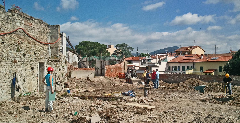 Sorveglianza archeologica al Bastione delle Forche