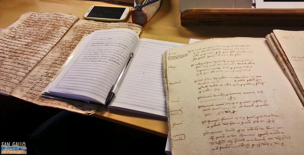 Ricerca nell'Archivio Storico di Prato