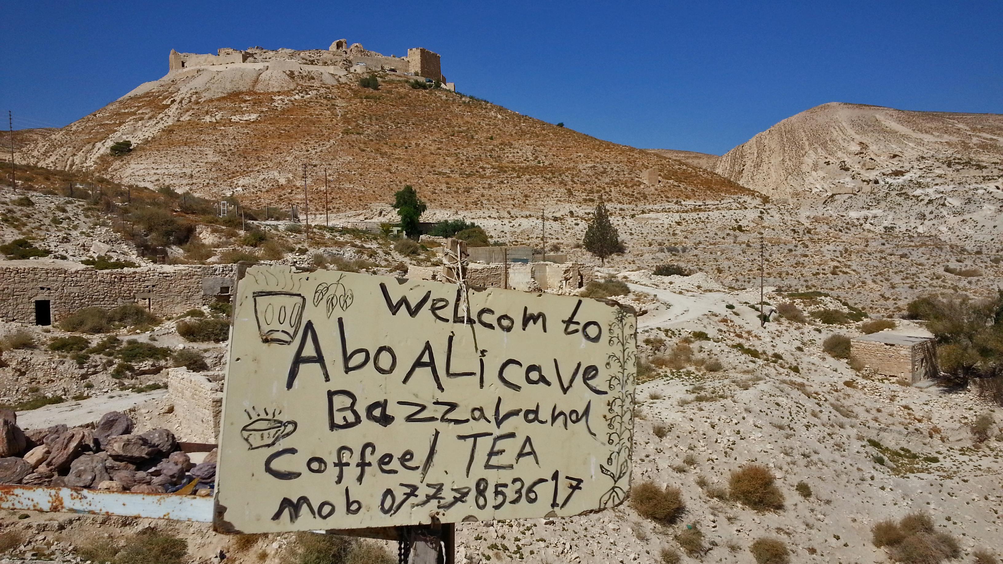 Il castello di Shawbak, Giordania